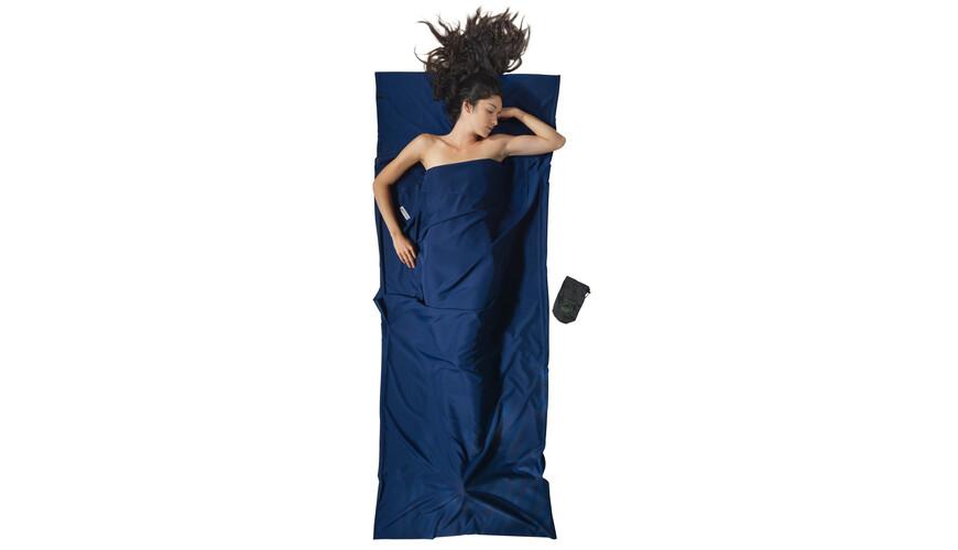 Cocoon TravelSheet Śpiwór Microfiber niebieski